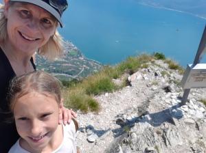 Hoch über Limone und Gardasee